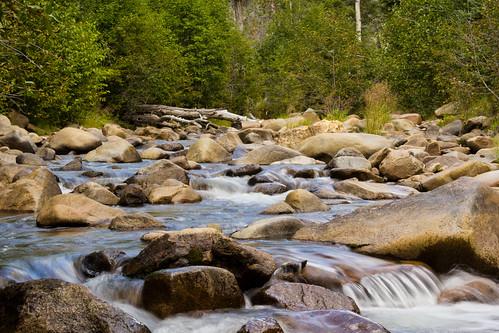 trees motion water creek canon montana rocks stream mt cataractcreek 18135mm 60d
