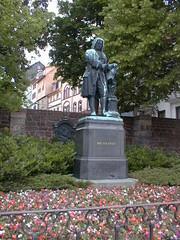 JS Bach statue, Eisenach