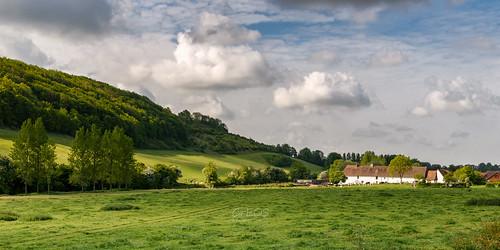 road sky france nature farm route ciel paysage fr nordpasdecalais ferme lanscape doudeauville