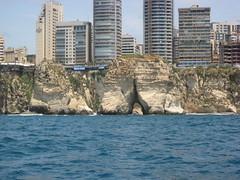 PHOTO1 Beirut, Lebanon-Raouche's Pigeons' Rock