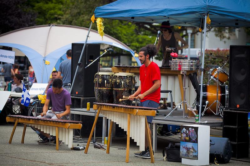 Vancouver International Jazz / Busker Festival June 28th, 2015