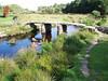Dartmoor – nejznámější clapper bridge v Postbridge, foto: František Nepraš