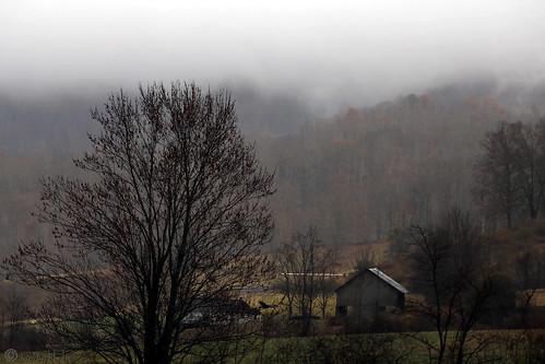 leicester northcarolina rain landscape cloudy janbuchholtz farm blueridgemountains rural barn gloomy