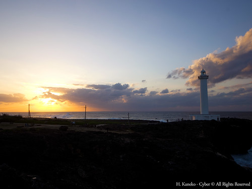 日本 japan 沖縄 okinawa seascapes 残波岬 岬 cape 灯台 lighthouse