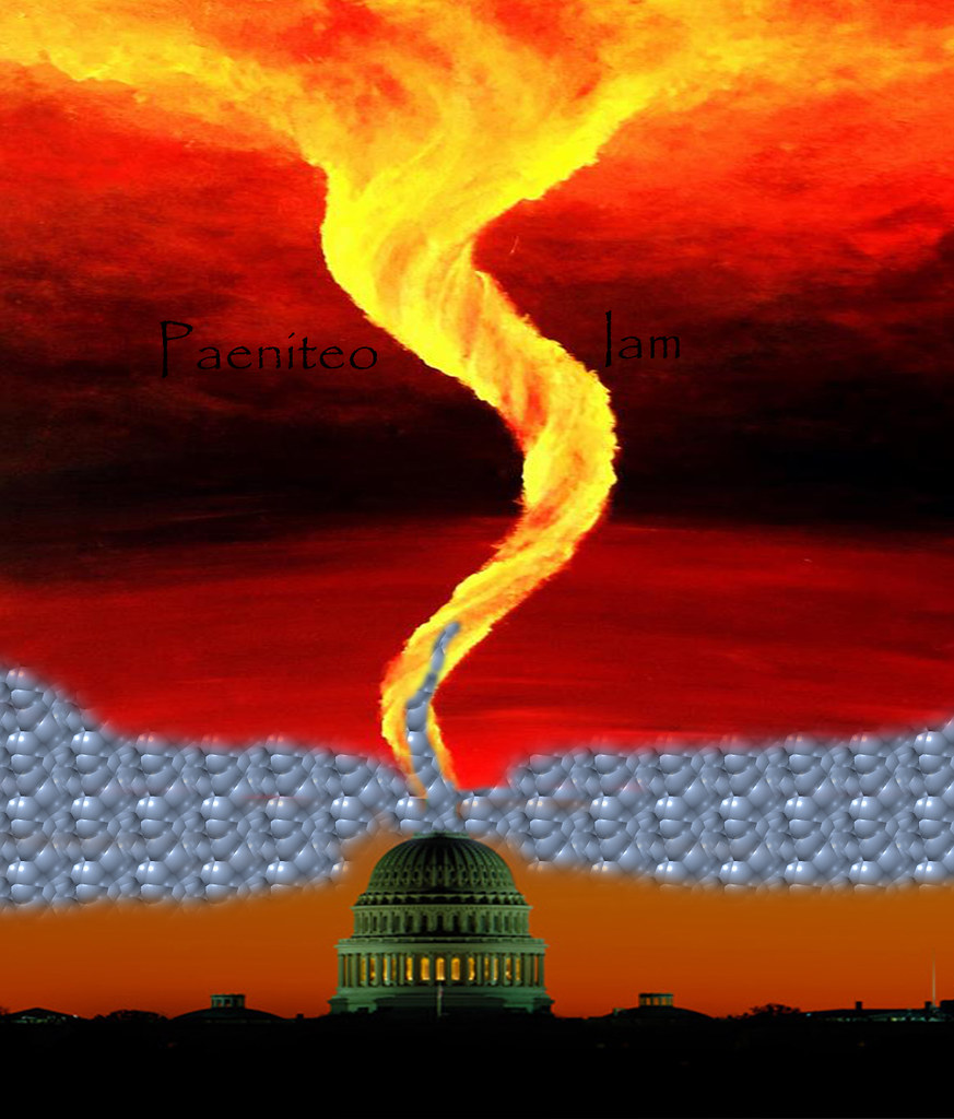 Whirlwind of Fire over Capitol - 2