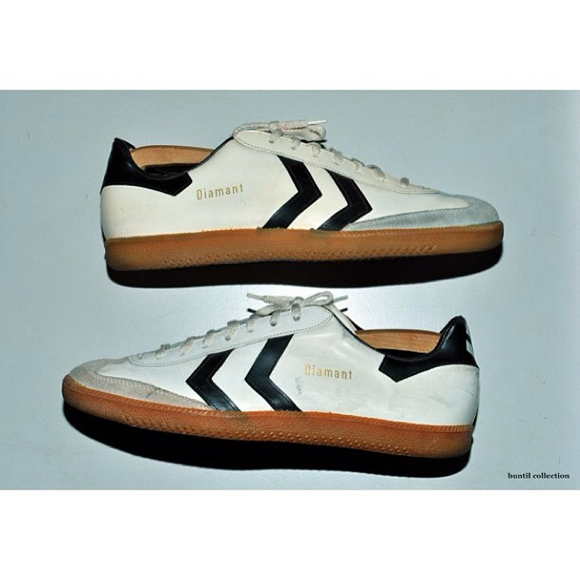 low priced 2a251 1a086 Vintage Hummel Diamant Trainer Shoes -made in west germany ...