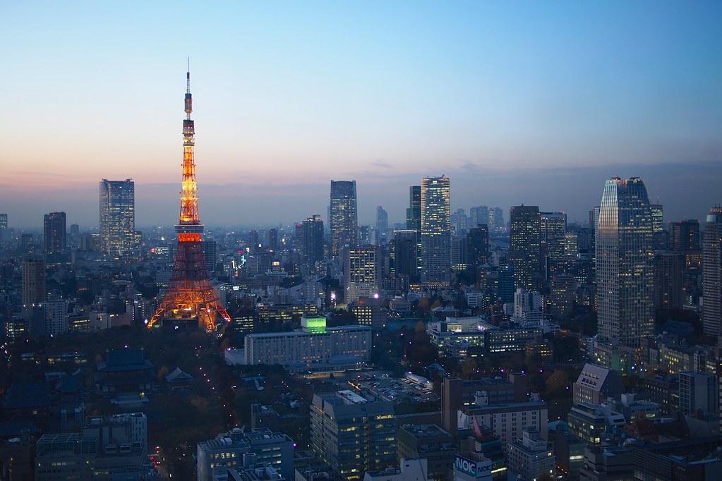 Blue Hour over Tokyo | Tokyo, Japan | Balint Földesi | Flickr
