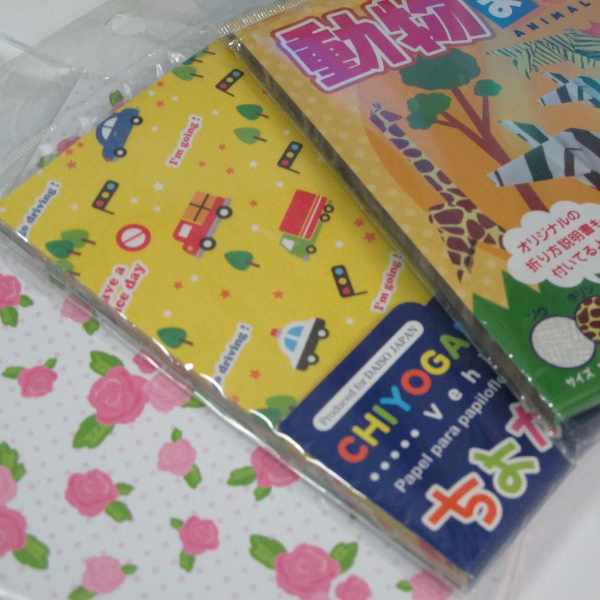 เลือกซื้อกระดาษสำหรับพับโอริงามิ (Origami paper) 005