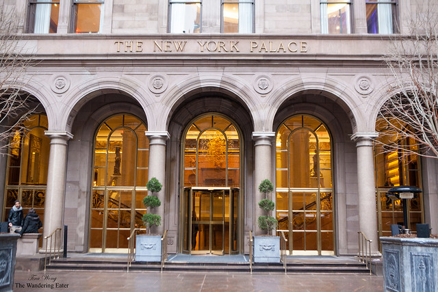 Entrance to The New York Palace