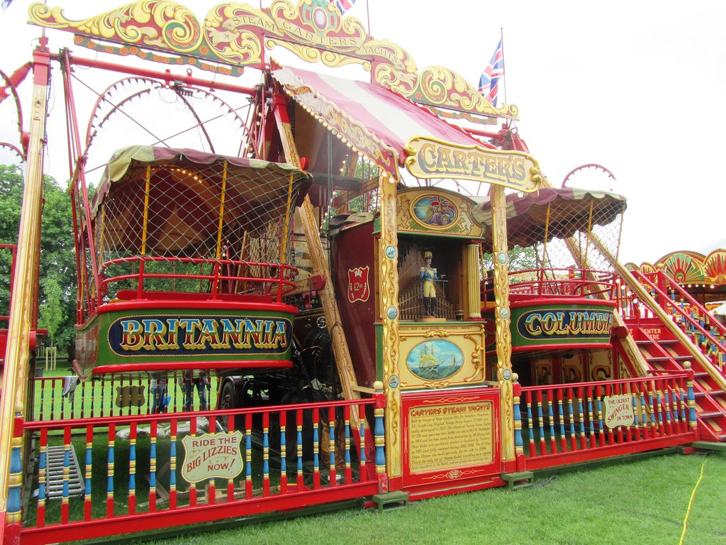 Carters Steam Fair Excelsior Steam Yachts The Excelsior S Flickr