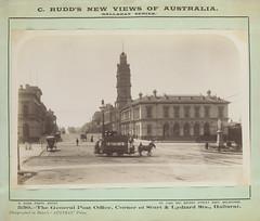 General Post Office, Corner of Sturt & Lydiard Sts Ballarat