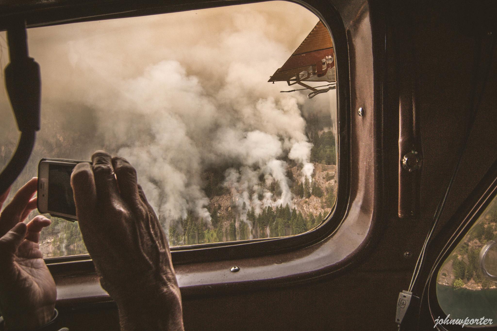 New fires along Lake Chelan