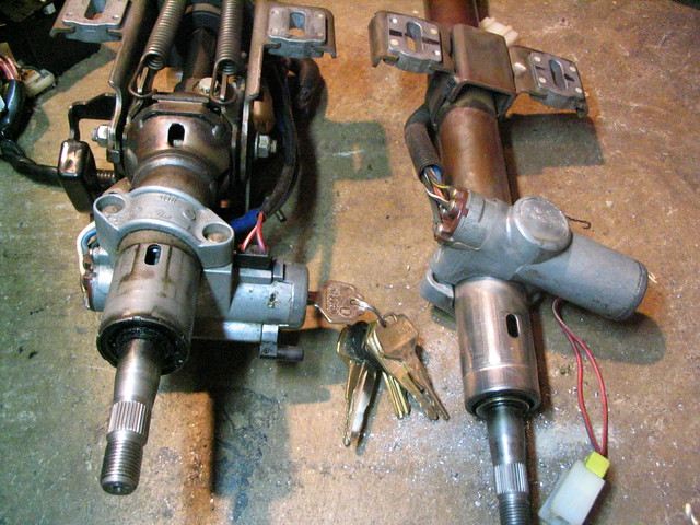 KN13 Pulsar SE - Manual Steering Column Swap 05