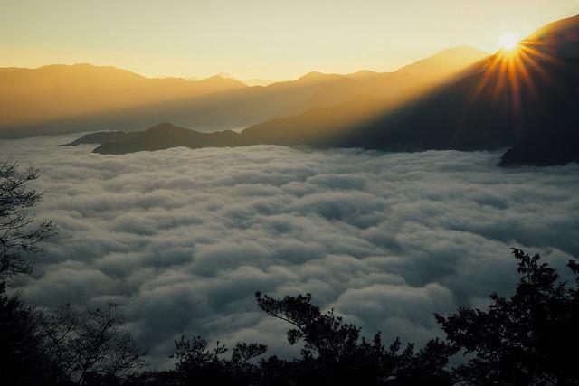 祝山 雲海|阿里山
