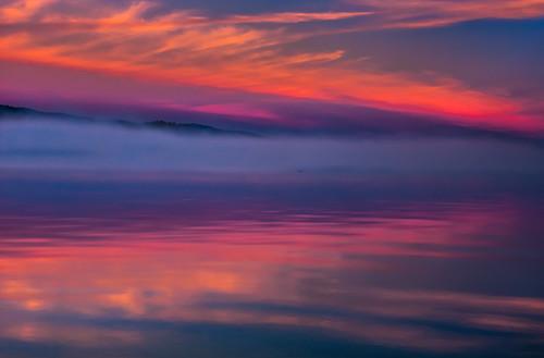 california morning usa mountains water fog clouds sunrise canon reflections landscape spring lakes laketahoe sierras tamron1750 40d canon40d ilikethenight marccrumpler