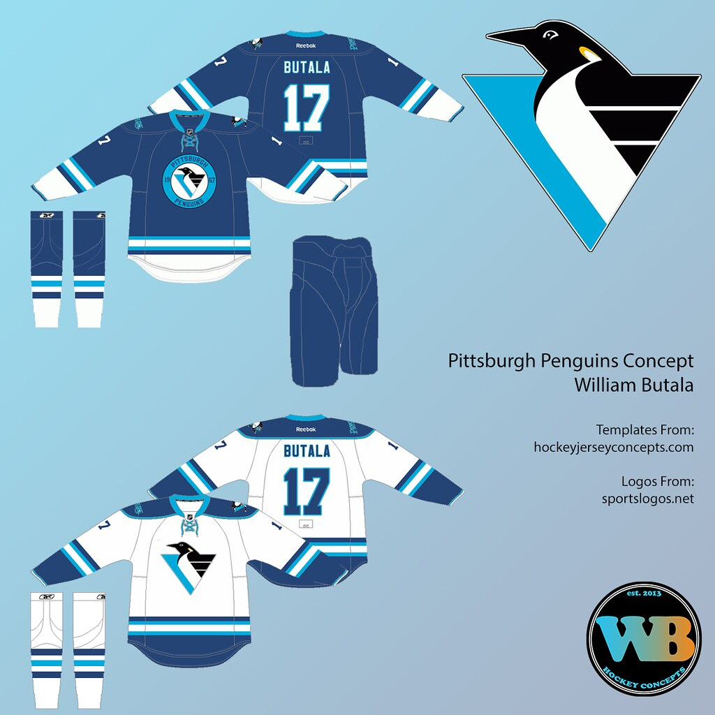 on sale b7b28 382cc Pittsburgh Penguins Concept | Heres a concept for the Pengui ...