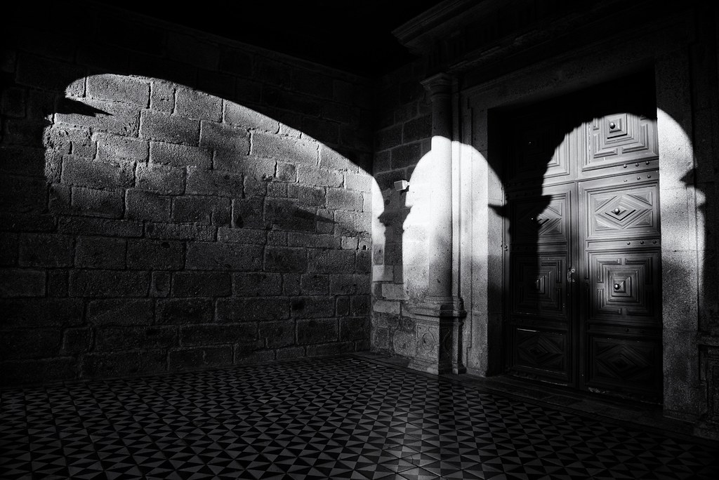 5326 ~ the door and the arches of the Monastery of Landim by Teresa Teixeira