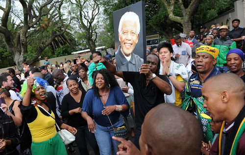 South Africans mourn the death of the late former President Nelson Mandela, 7 Dec 2013 | by GovernmentZA