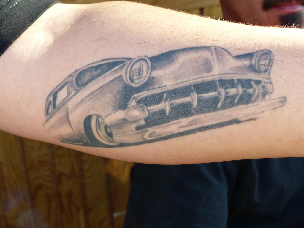 Chevy Tattoo Gnrs Saturday Bballchico Flickr