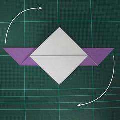 วิธีพับกระดาษเป็นนกพิราบแบบง่าย (Easy Origami Pigeon) 007