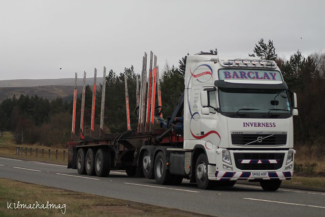 Barclay Inverness Volvo FH 540 SK60 AOF