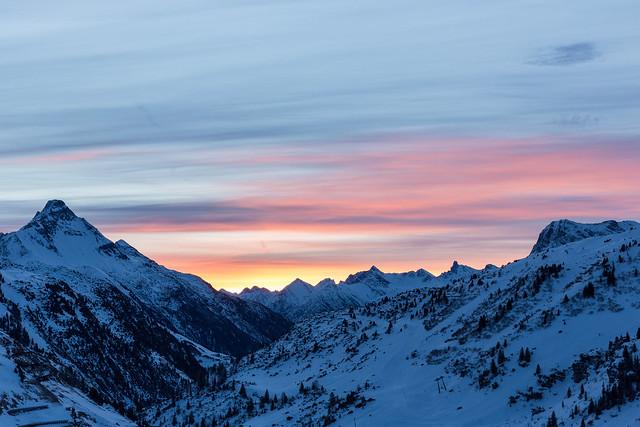 Sonnenaufgang im Vorarlberg-1515