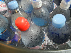 plastic (PET) bottles
