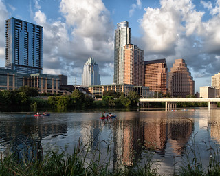 Austin, Texas - Lady Bird Lake by Day | by Anne Worner