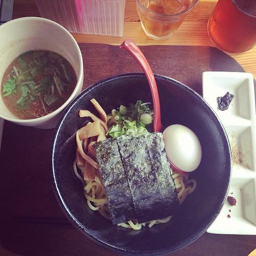 Tsukemen for lunch. | by PrincessPeach