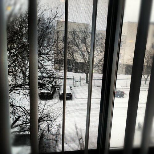 winter columbus ohio snow home view cellphone columbusohio ohioweather instagram boxingday2012winterstorm