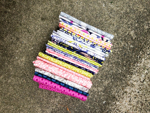 Fabric Stack | by Jeni Baker | In Color Order