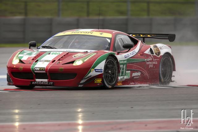 Toni Vilander, AF Corse Ferrari F458