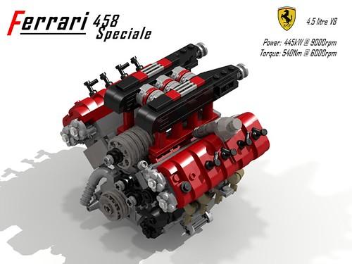 Ferrari 458 Speciale - 2013 - 4.5 Litre V8 Engine