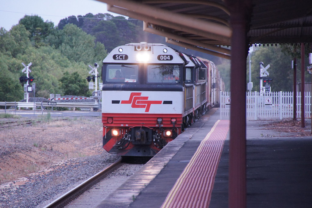 SCT 004 Stawell 13/1/13 by class400railcar