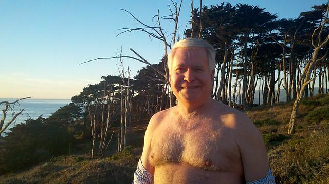 shirtless adda on a sunny day in san francisco... ( safe photo )