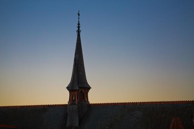 sunset spire