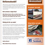 Hemsida Perssons Delikatesshandel