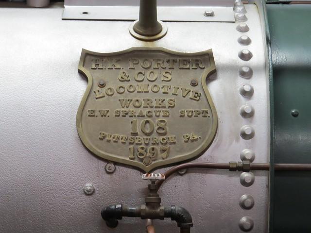 1897 Forney Locomotive 0-4-4T