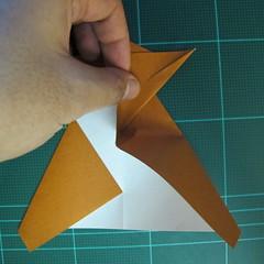 วิธีการพับกระดาษเป็นรูปกบ (แบบโคลัมเบี้ยน) (Origami Frog) 024