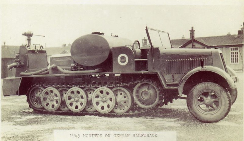 Capturé Sd Kfz7