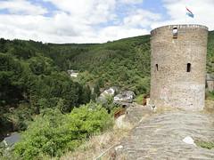 Castle ruine tower