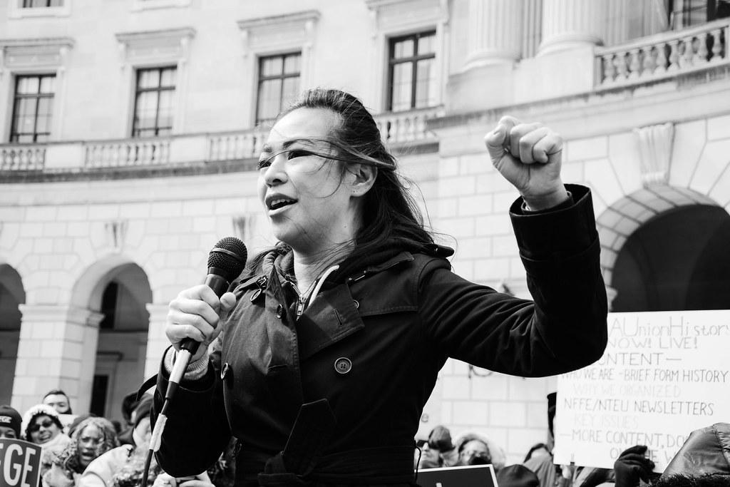 Stand Up For the EPA Rally - Washington, D C  | AFGE leaders