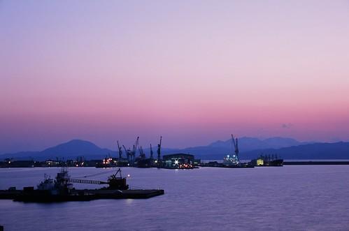 sunset hokkaido harbour hakodate rdpiii