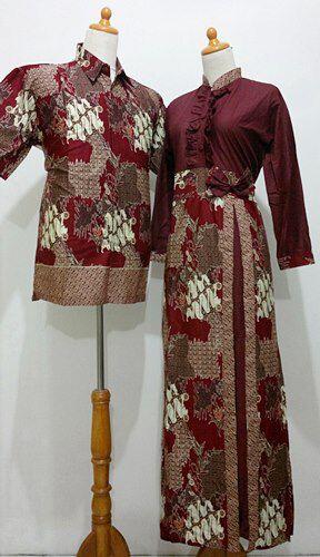 Model Gamis Batik Terbaru Modern C23 Devi Sofiah Flickr