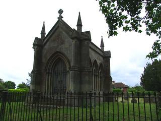 Trafford mausoleum