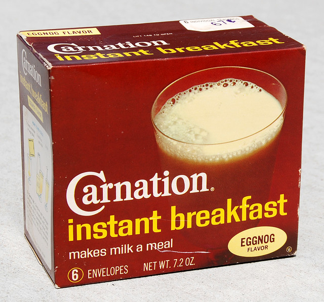 Carnation Instant Breakfast Drink Mix, 1970's