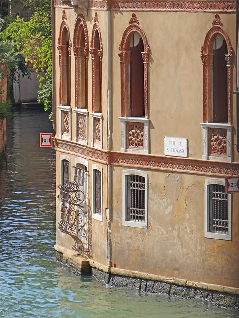 Le rio de San Trovaso (Venise)