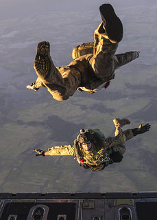 Bangladeshi and U.S. Paratroopers Take to the Skies at Cope South 14 [Image 24 of 27]