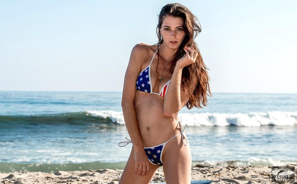 Hot california girl bikini set women sexy micro bikinis deep v top thong bottom