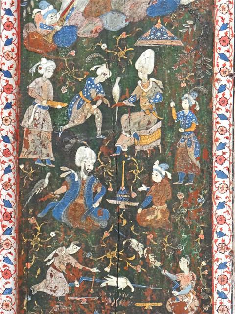 Décor de la Chambre d'Alep (Musée d'art islamique, Berlin)